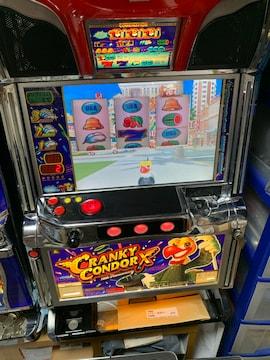 パチスロ実機クランキーコンドルX5コイン不要機引き取り限定