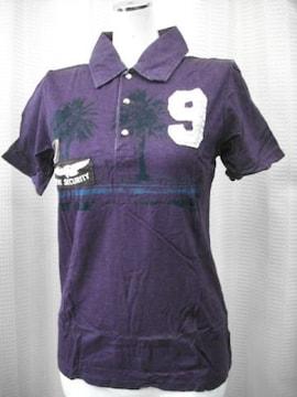 【la sula tiret】【男性用】パープルのポロシャツです