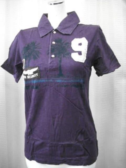 【la sula tiret】【男性用】パープルのポロシャツです  < 男性ファッションの