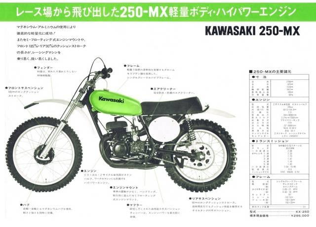 kawasaki Vintage MX Early KX250 KX250-A クラッチハブ < 自動車/バイク