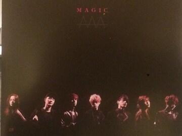 激安!超レア!☆AAA/MAGIC☆初回盤/CD+DVD☆トレカ付き!美品!☆