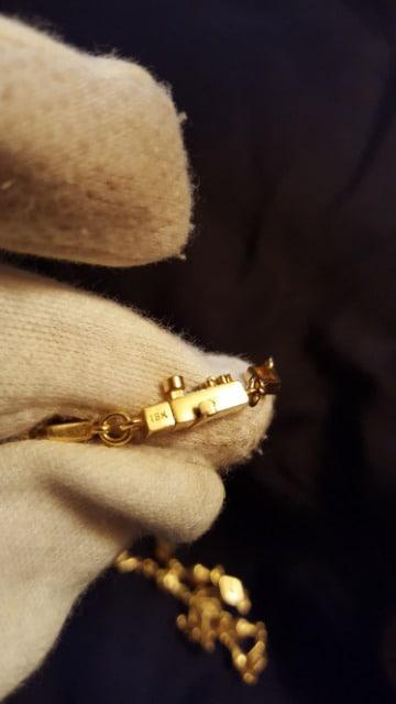 ローリーロドキン 18k  チェーン ダイヤ < ブランドの