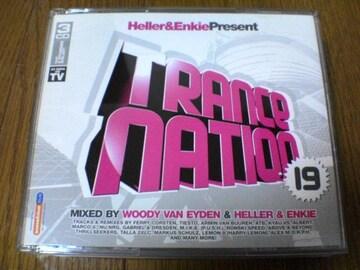 CD TRANCE NATION 19 トランス 3枚組