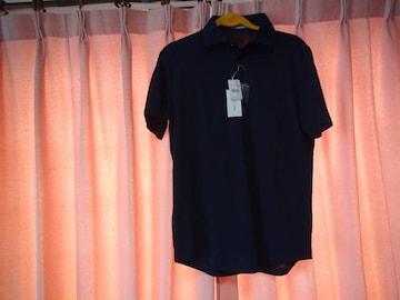 STIGLERのポロシャツ(L)ネイビー 新品タグ付き!。
