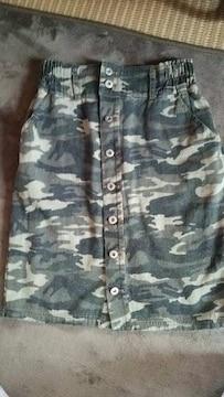 W closet 迷彩 スカート美品