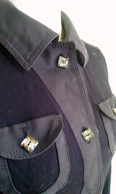 SONIA RYKIEL黒薄手ジャケット38 < ブランドの