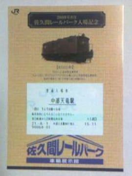 佐久間レールパーク入場記念09・8