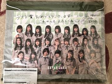 欅坂46ウォールポケット&特大メッセージカード