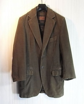 size44☆良品☆ドルチェ&ガッバーナ モールスキン製ジャケット