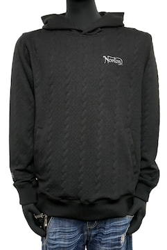 新品Norton 201N1302 ケーブル膨れJQプルパーカー 黒 L