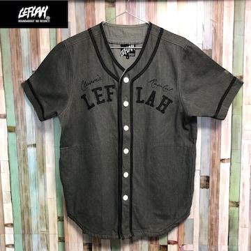 LEFLAH デニム ベースボールシャツ