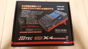 ハイテック充電器AA/AAAチャージャーX4 アドバンスII