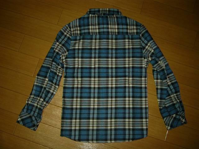 新品インパクティスケリーInpaichthys kerriチェックシャツS紺系 < ブランドの