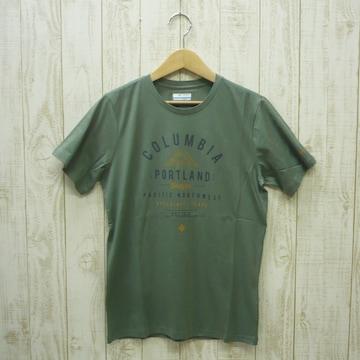 即決☆コロンビア特価ポートランドTシャツKH/XL 新品 グリーン カーキ 半袖