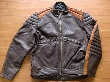 ヴィンテージ カナダ製 DROSPO ライダースジャケット L