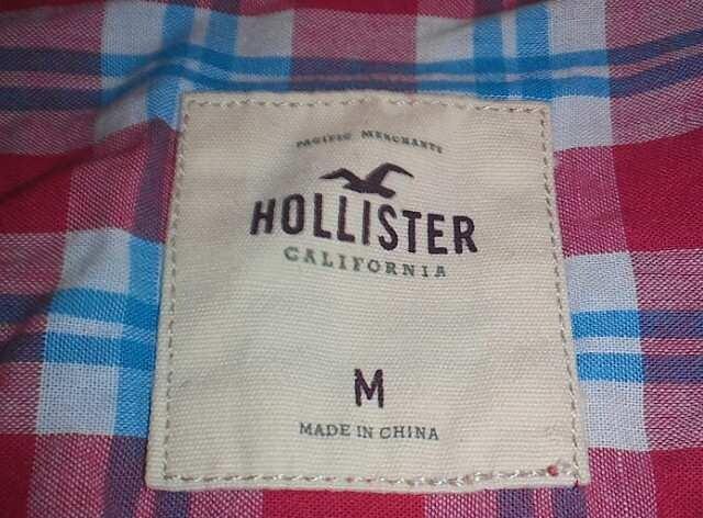 hollister(ホリスター) チェックシャツ < ブランドの