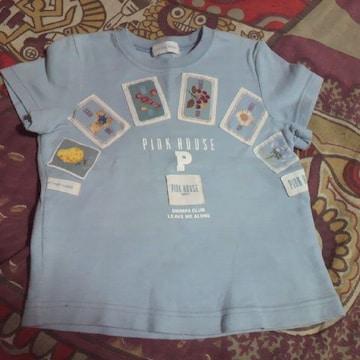 キッズPINK HOUSE/ピンクハウスワッペン Tシャツ 95�p〜