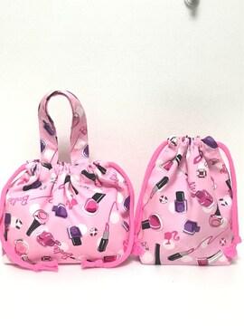 Barbie♪お弁当袋&コップ袋♪