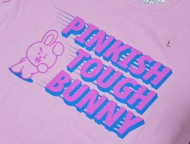 ユニクロ「UT」BTSキャラクター「BT21」コラボTシャツ☆pink(L)新品/送料無料 < タレントグッズの