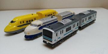 プラレール類似品 3種類セット