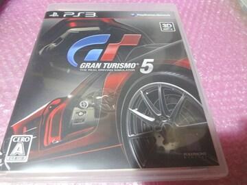 掘PS3 GT5 グランツーリスモ 5 ◎ディスク良好