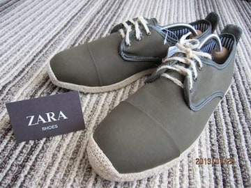 □ZARA/ザラ カジュアルシューズ スニーカー/メンズ27.5cm☆新品