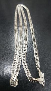 ネックレス Pt900 8面トリプル Mカット 30.5g 50センチ