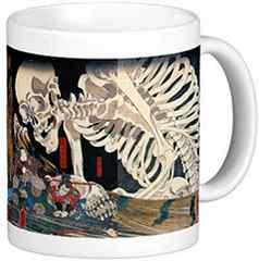歌川国芳『 相馬の古内裏(そうまのふるだいり)』のマグカップ