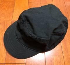 GAPギャップ☆黒キャスケット