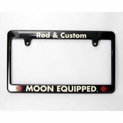 ムーンアイズ ライセンスフレーム Rod & Custom