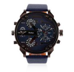 人気 腕時計 メンズ レディース カジュアル青+青
