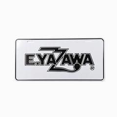 矢沢永吉 ショップ限定  ナンバープレート(ロゴ)ホワイト/ブラック