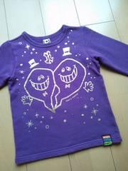 中古トレーナー120紫partyparty