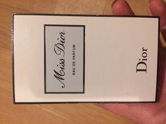 ディオール 香水 ミスディオール Miss Dior 試供品