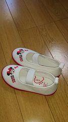 ミニーちゃんの上履き16センチ