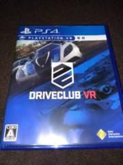 PS4 VR専用 DRIVECLUB VR ドライブクラブ VR 中古 美品