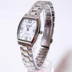 シチズンQ&Q リリッシュ ソーラー電源レディース腕時計 H041-900
