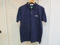 新品タグ付き FILA メンズ半袖ポロシャツ M