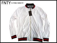 FNTY ベロアジャケットです。白色 XL