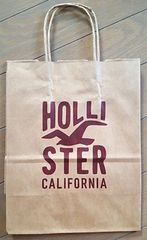 【HOLLISTER★ショップ袋】USA♪ホリスター♪ギフト♪プレゼント