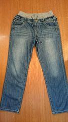 W69〜77 大きいサイズ ゆったりジーンズ デニムだぼだぼ美品マタ