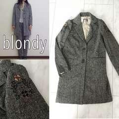 定価27000円 blondy viola 刺繍ロングジャケット ブロンディ