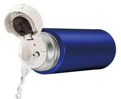 水筒 ステンレススリムボトル 500ml ブルー