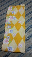 値下げ☆レディース 浴衣・結び帯セット 黄色