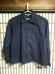 ネペンテスNEPENTHESウールブレンドジャケットMサイズアメカジ古着系日本製服ネイビー