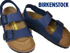 ビルケンシュトック新品MILANOミラノ034751ブルー37