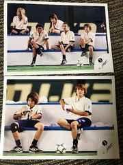 ジャニーズ大運動会 写真2枚セット 嵐二宮和也 TOKIO V6 長野博