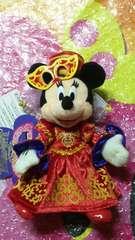 ディズニーシーTDS/ハロウィ-ン.ハロウィン.デイドリーム2012/ぬいぐるみバッジ/ミニー姫