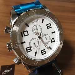 在庫処分?コグ COGU 流通限定モデル クロノ クォーツ 腕時計