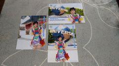 AKB48渡辺麻友☆A4サイズ公式写真〜やり過ぎサマー6枚セット!クリアファイル付